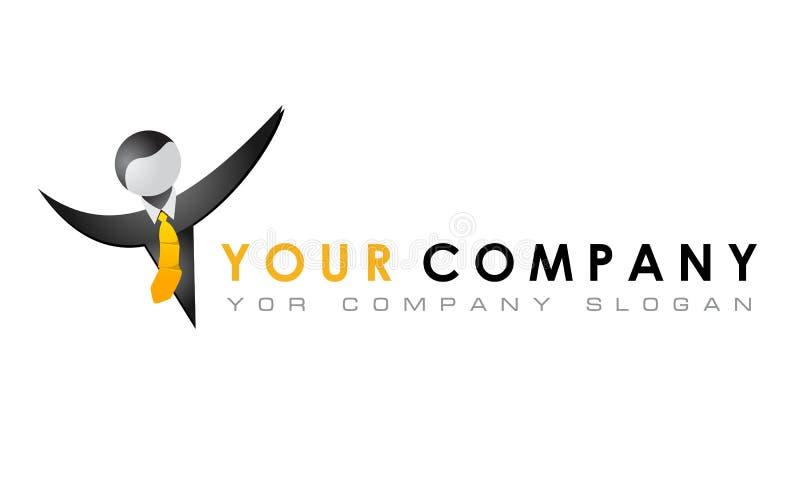 Vector o molde do logotipo, ele, negócio criativo, anunciando ilustração stock