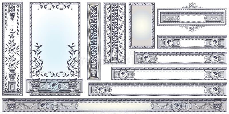 Vector o molde para propagandas, inseto, convites ou greeti ilustração stock