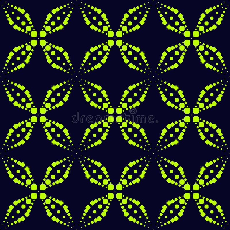 Vector o teste padrão sem emenda com pontos de néon, sparkles, cruzes Estilo extremo do esporte, textura urbana da arte ilustração royalty free