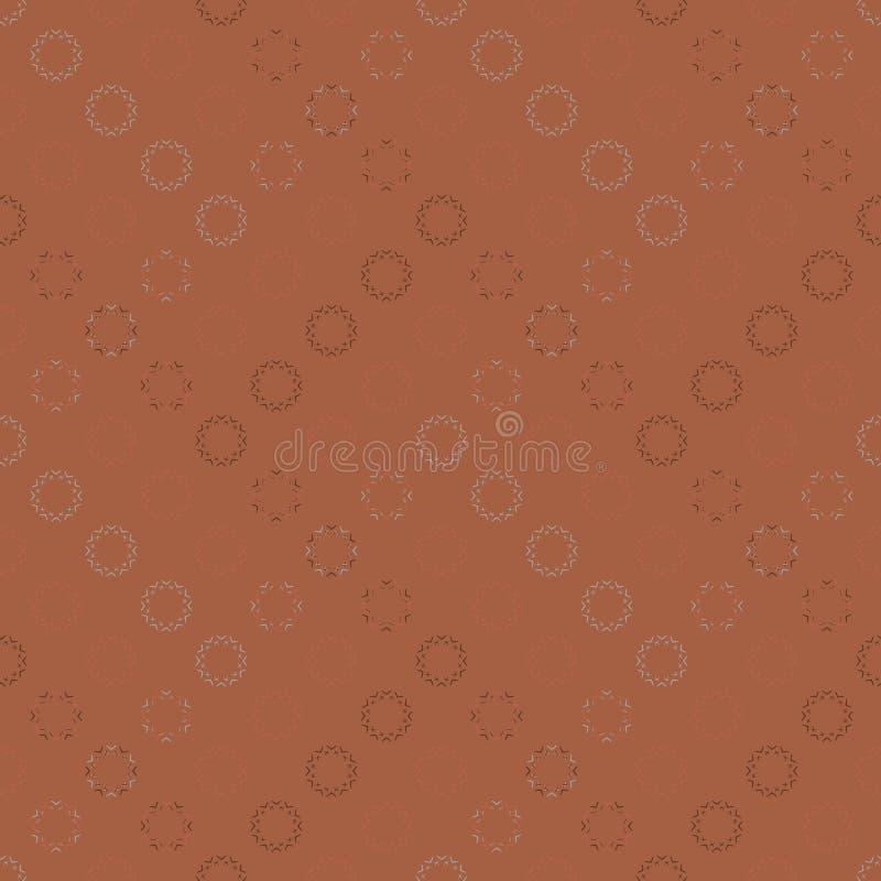 Vector o teste padrão sem emenda decorativo ilustração royalty free