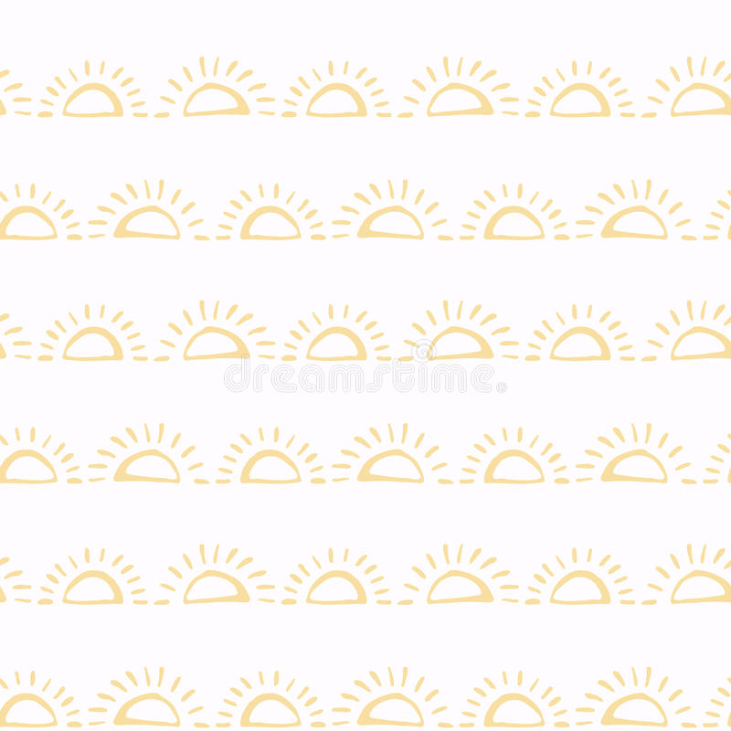 Vector o teste padrão sem emenda Elementos do projeto do álbum de recortes Mão abstrata textura tirada da tela Envolvimento simpl ilustração royalty free