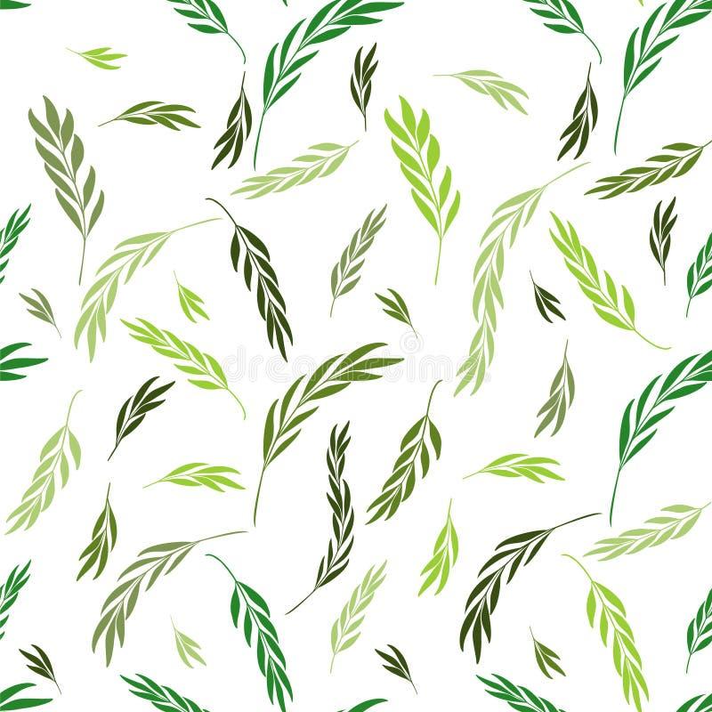 Vector o teste padrão sem emenda Fundo à moda floral com gráfico ilustração royalty free