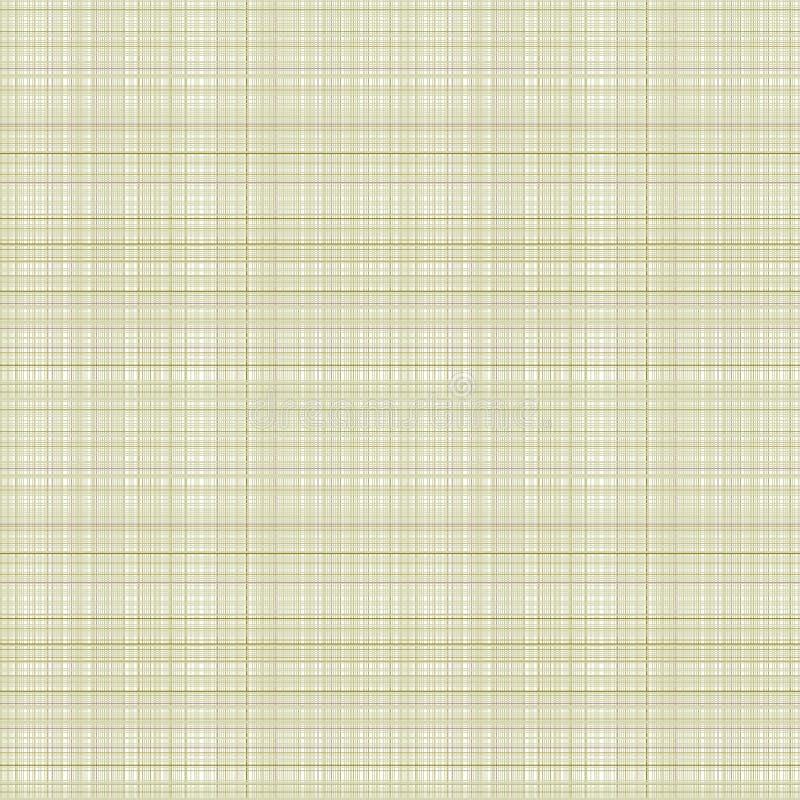 Vector o teste padrão sem emenda O fundo quadriculado pastel em cores do beigh, amostra de folha da tela prova a textura do pano  ilustração royalty free