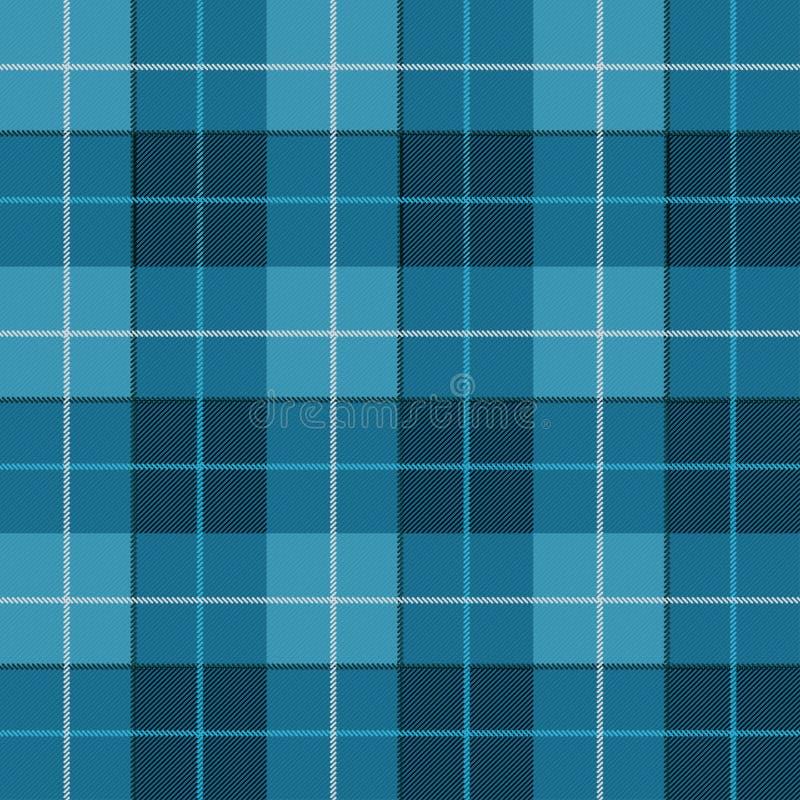 Vector o teste padrão sem emenda Tartã escocesa altamente detalhada, tela britânica quadriculado tradicional ou teste padrão da m ilustração stock