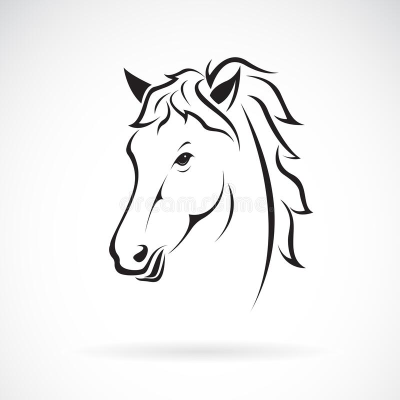 Free Vector Of A Horse Head Design On White Background. Farm Animal. Horses Logos Or Icons. Easy Editable Layered Vector Illustration Stock Image - 180735941
