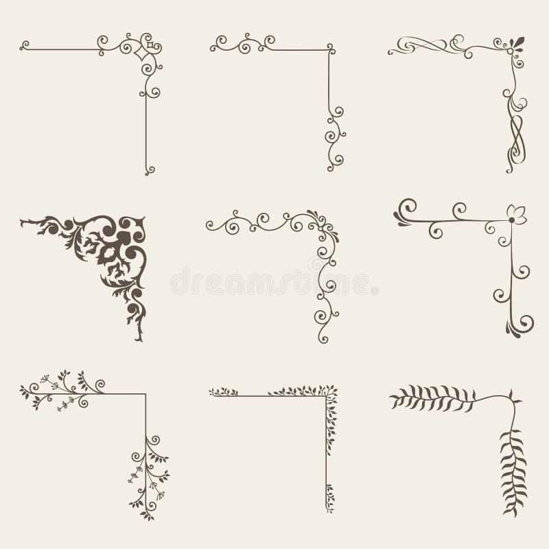 Free Vector Of Decorative Corner Frame Set Royalty Free Stock Photos - 78875178