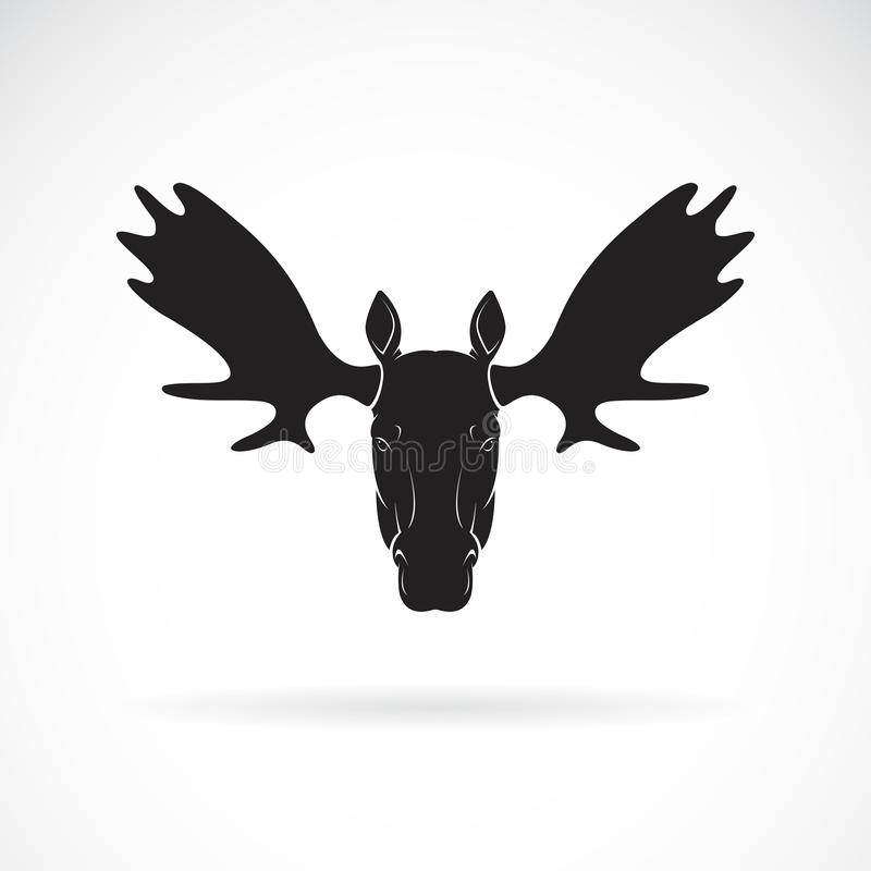 Free Vector Of Moose Deer Head Design On White Background., Wild Animals. Easy Editable Layered Vector Illustration Royalty Free Stock Photos - 163832128