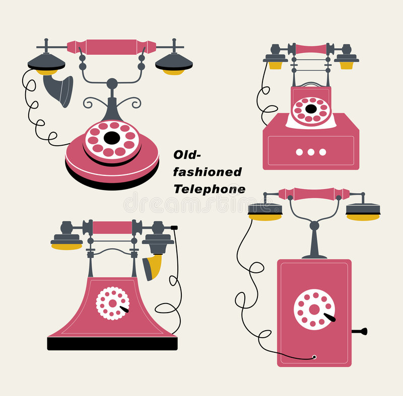Download Vector Old-fashioned Telephone Stock Vector - Image: 8904514