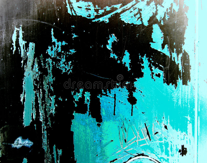 Vector Old Grunge Wall Stock Photo