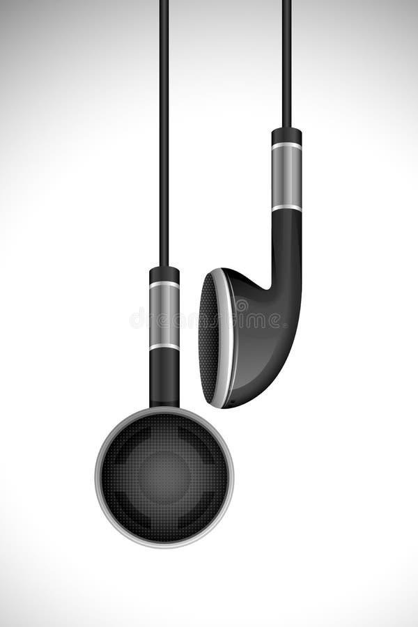 Vector Oortelefoon stock illustratie