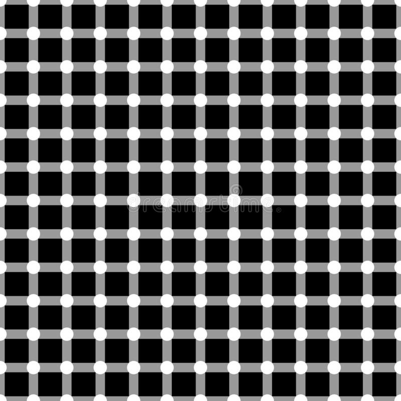 Vector op art seamless pattern background vector illustration
