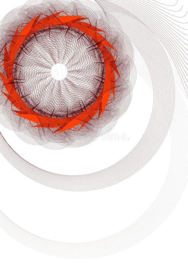 Spiral illustration stock images
