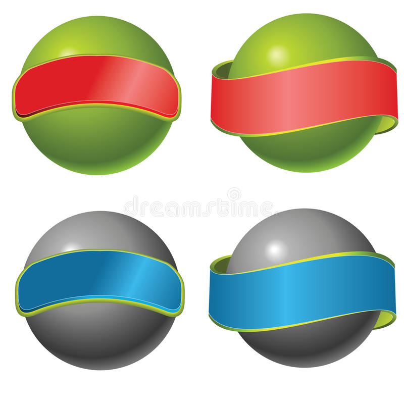 Vector orb stock illustration