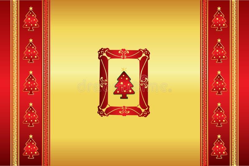 Vector oriental hermoso del fondo de la Navidad libre illustration