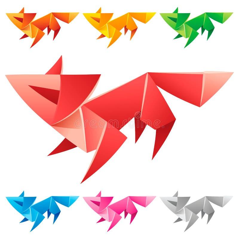 Cute origami dog Royalty Free Vector Image - VectorStock | 800x800