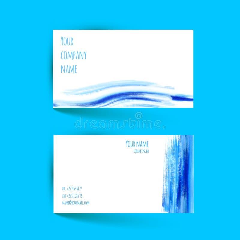 Vector originele klaar voor beste af:drukken Vectorwaterverfontwerp stock illustratie