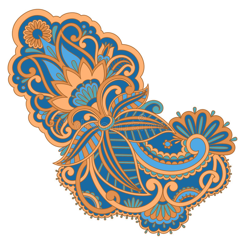Vector Ornament. Royalty Free Stock Image