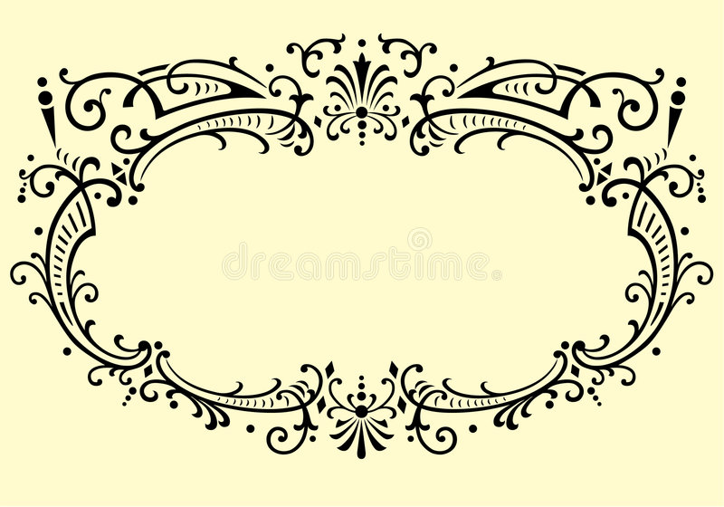 Vector ornament stock illustration