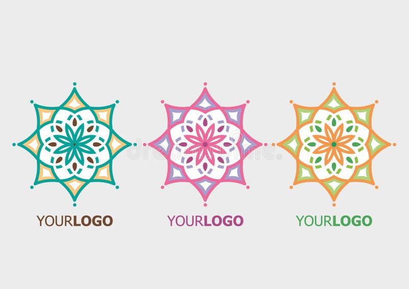 Vector ornamental logo stock photo
