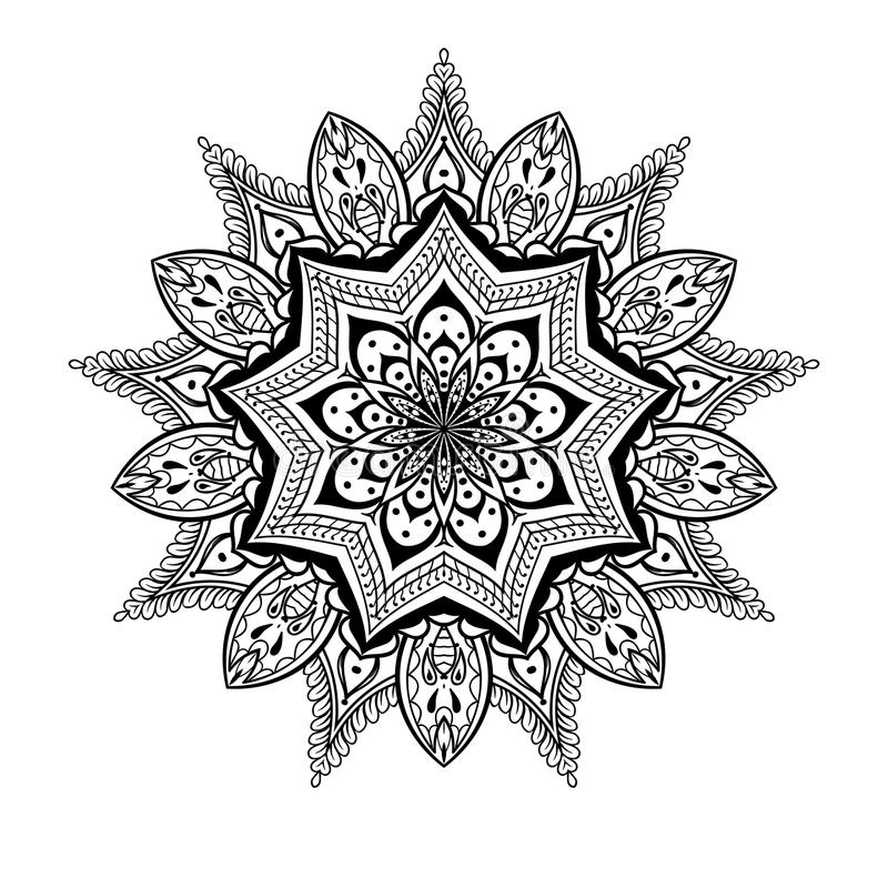 17 flower background tattoo designs vector ornamental lotus mandala ethnic zentangled. Black Bedroom Furniture Sets. Home Design Ideas