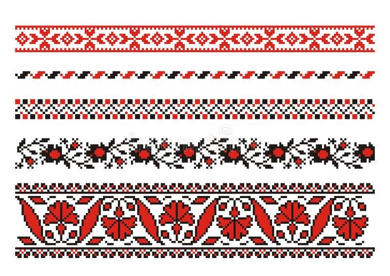 Vector ornamenten royalty-vrije illustratie