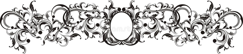 Vector ornamentenframe stock illustratie