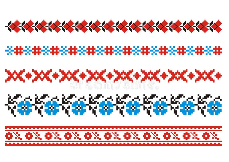 Vector ornaments vector illustration