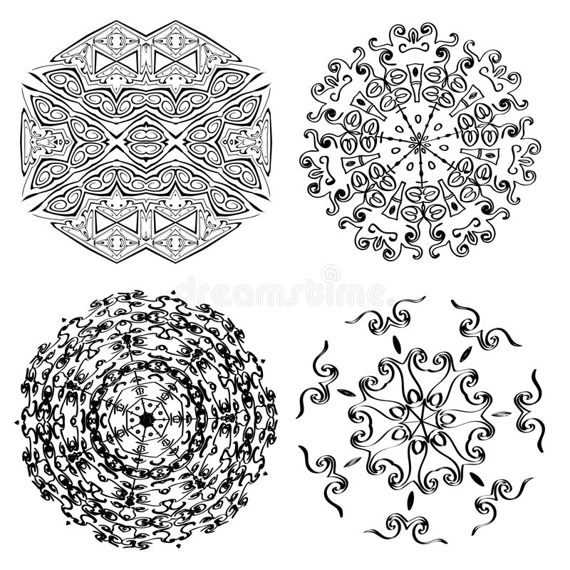 Download Vector Ornaments Royalty Free Stock Photos - Image: 7639658