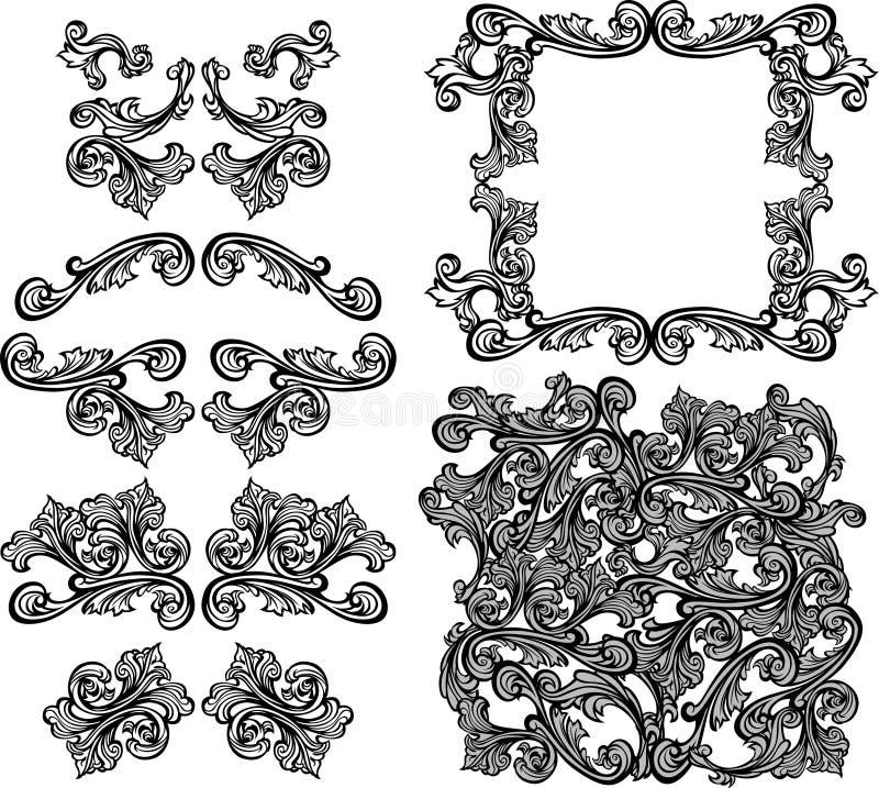 Free Vector Ornate Design Elements Stock Photo - 17948120