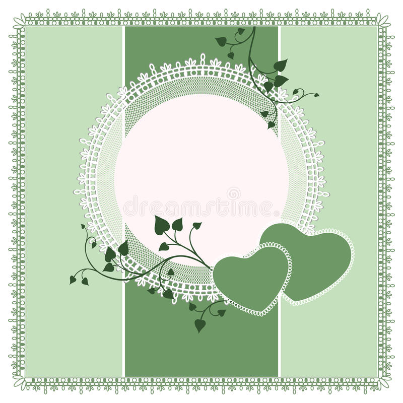 Vector ornate lace background vector illustration