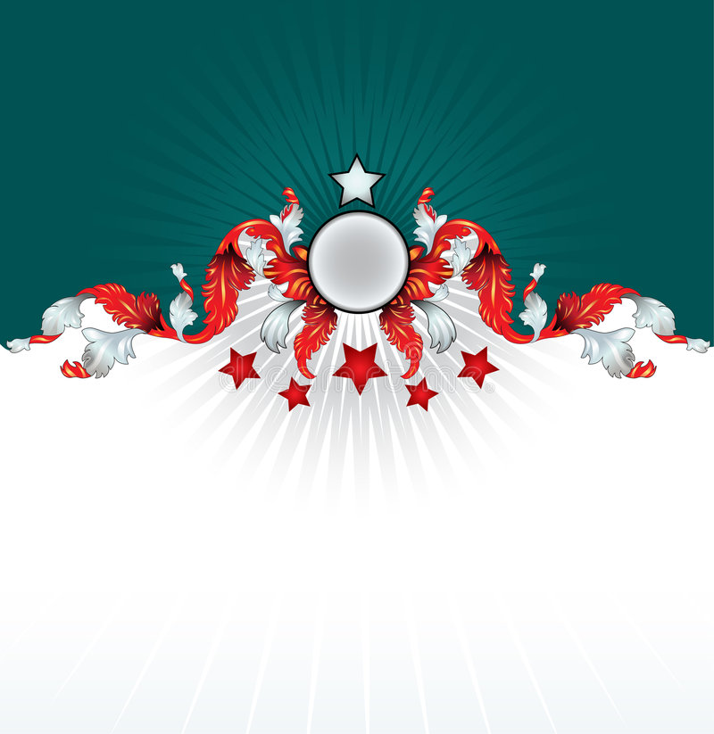 Download Vector Ornate Shield Background Stock Vector - Image: 4720017