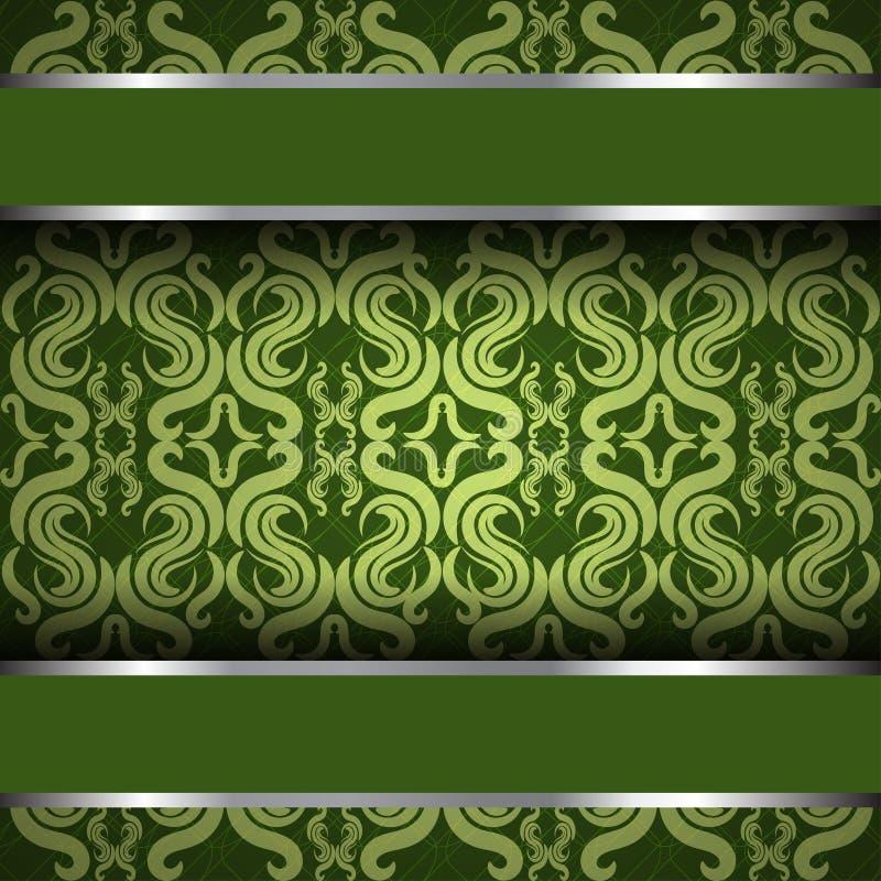 Vintage green royalty free stock photo