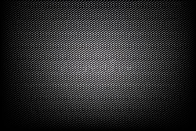 Vector oscuro y negro del fondo abstracto de la fibra de carbono ilustración del vector