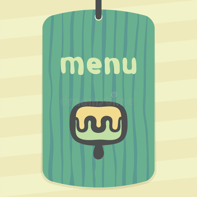 Vector outline fruit ice cream lolly icon. Modern logo and pictogram. stock illustration