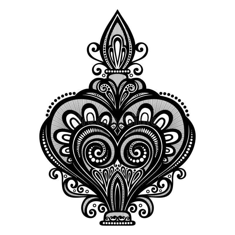 Vector Overladen Parfum royalty-vrije illustratie