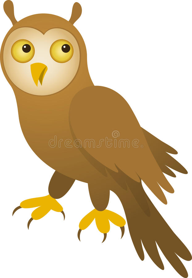 Vector Owl Royalty Free Stock Images