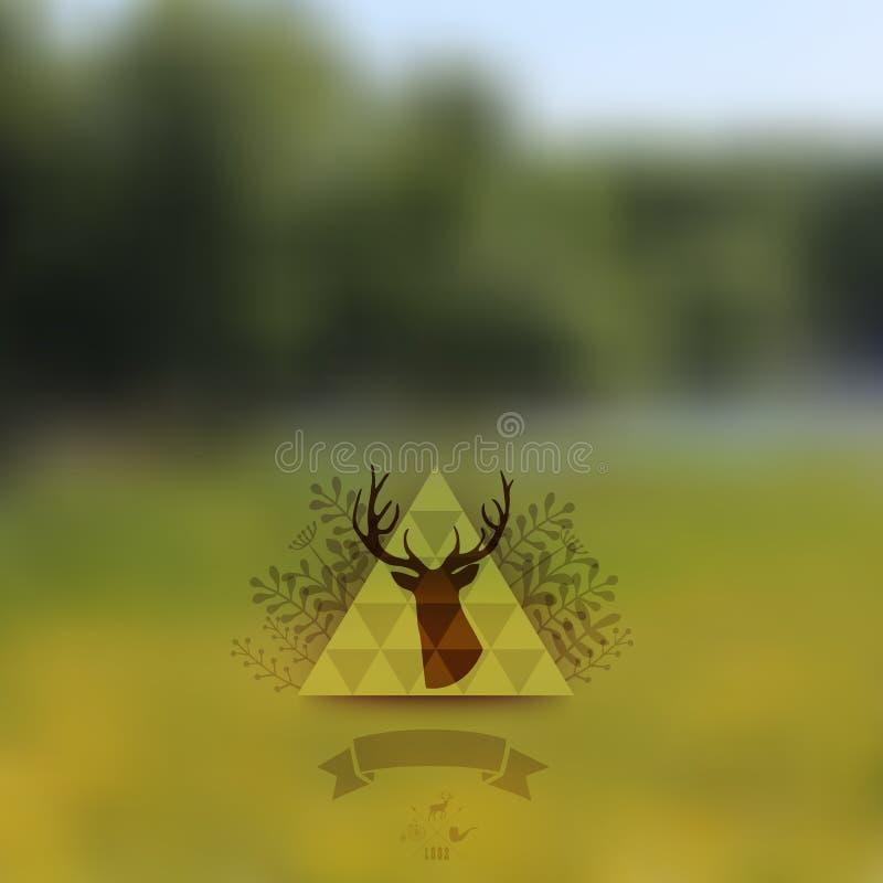 Vector a paisagem, a Web da natureza e o molde móvel Web incorporadas ilustração do vetor