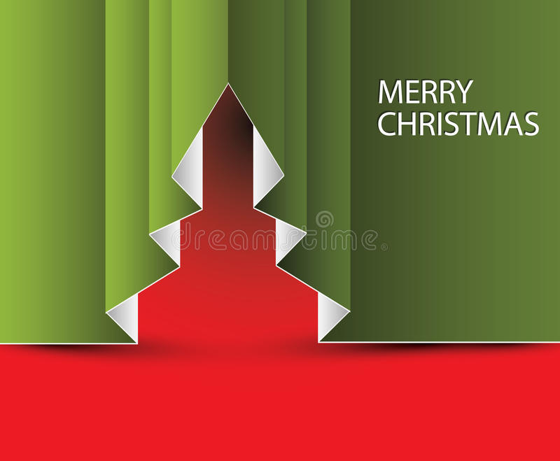 Download Vector Paper Christmas Tree Royalty Free Stock Images - Image: 27139049