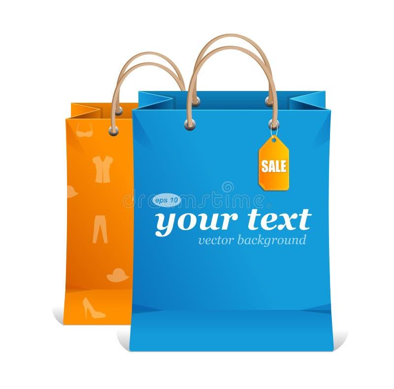 Free Vector Paper Shopping Bag Text Area Stock Photos - 31080763