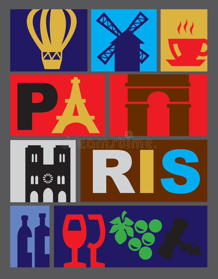 Download Vector Paris Royalty Free Stock Images - Image: 28936489