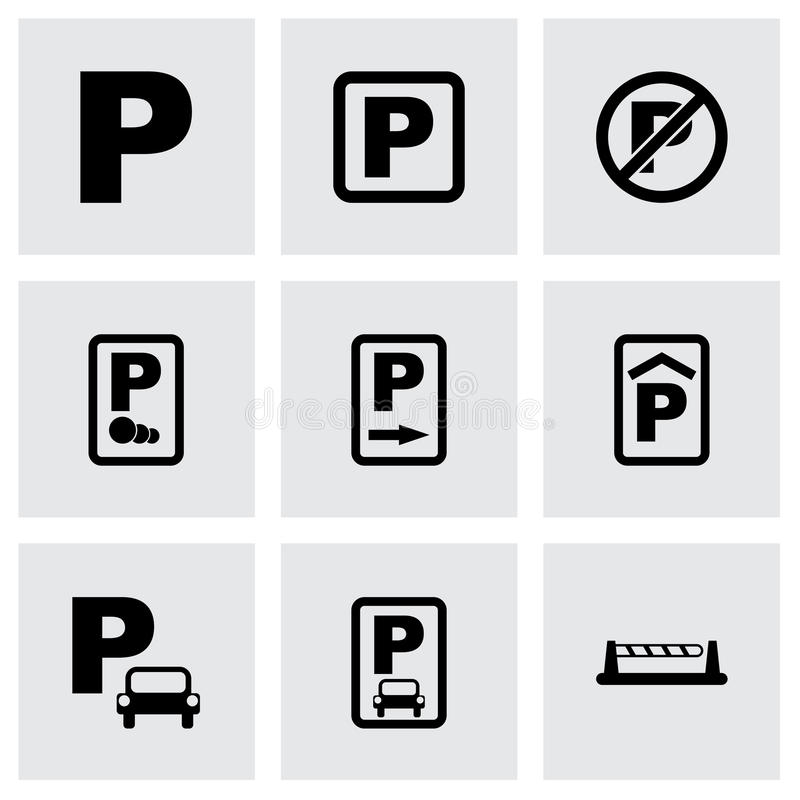 Free Vector Parking Icon Set Stock Photos - 51890303