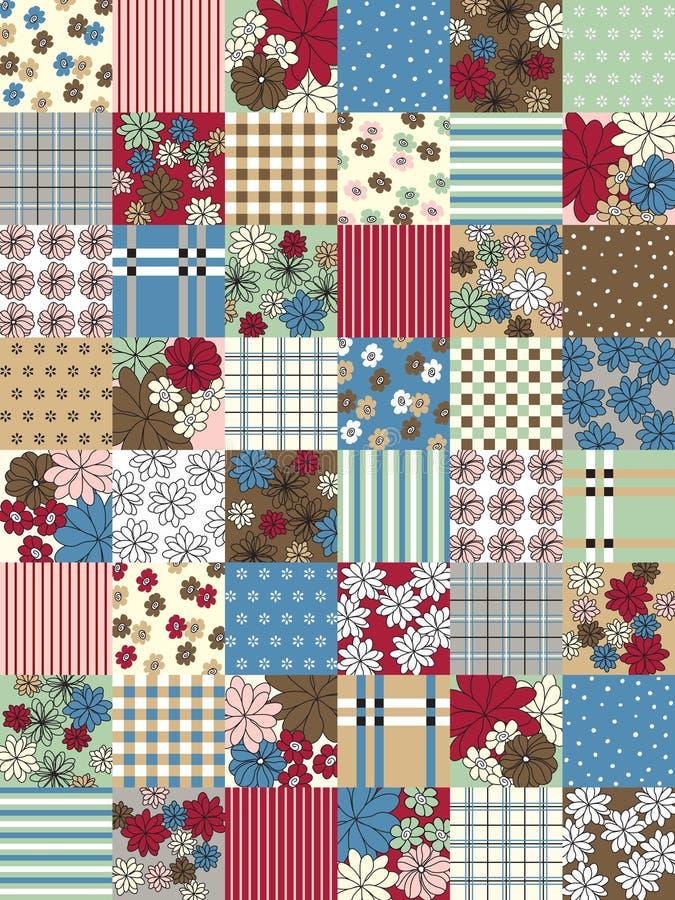 Vector patchwork stock photo