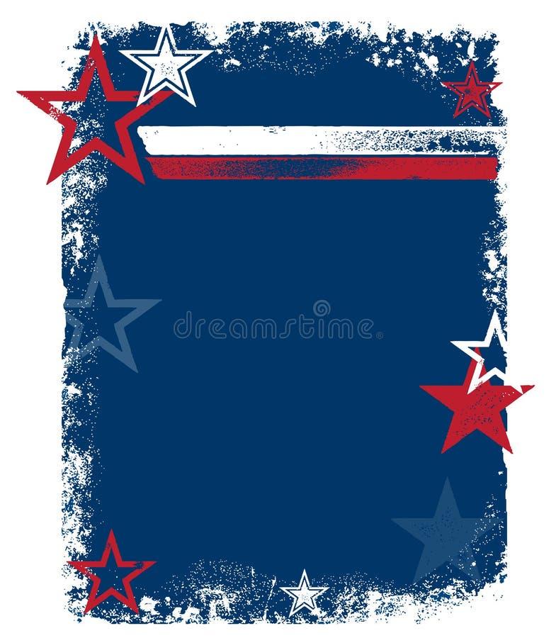 Vector Patriottische Achtergrond vector illustratie