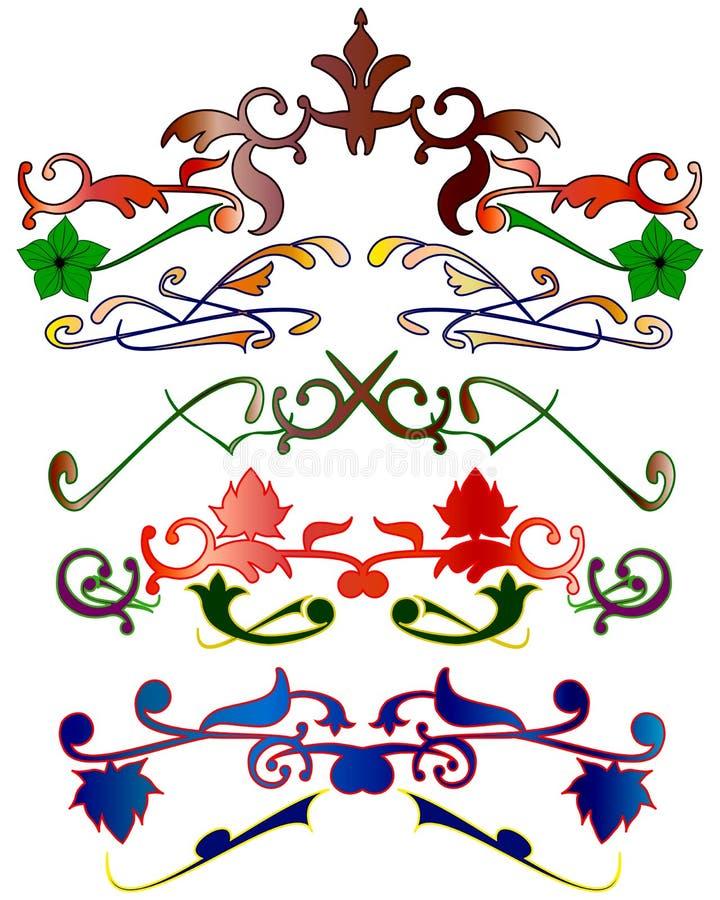 Vector patroon royalty-vrije illustratie