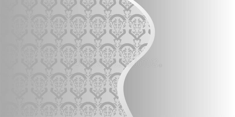 Vector patroonachtergrond royalty-vrije illustratie