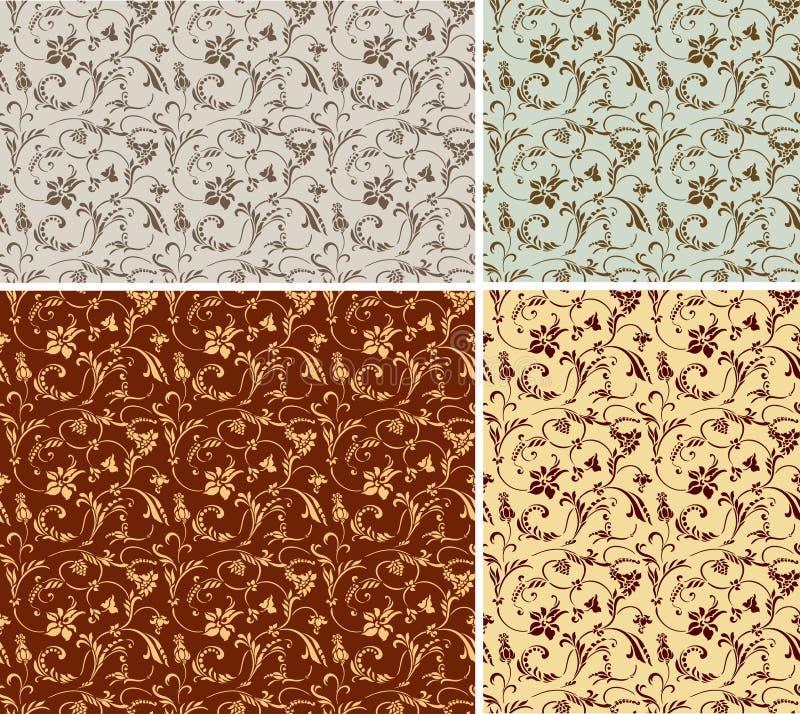 Vector pattern 01. Vector pattern wallpaper (Tayling texture vector illustration