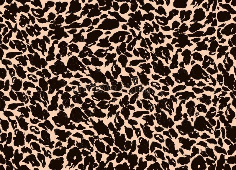 Seamless background of animal fur royalty free illustration
