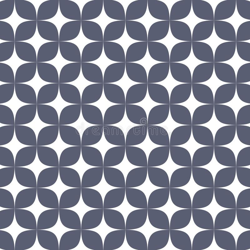 Vector pattern. Abstract stylish background with abstract star and flower or flora. vector illustration