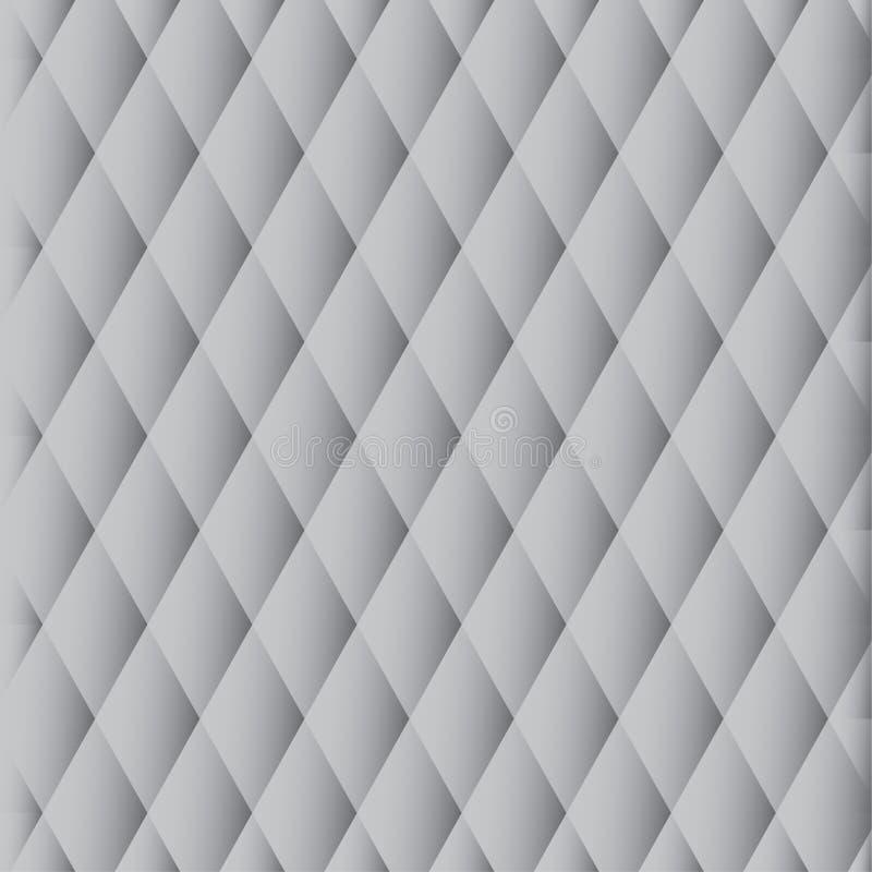 Download Vector Pattern - Gray Diamonds Stock Vector - Illustration of shape, decor: 21697368