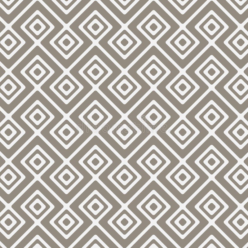 Vector pattern, repeating linear square diamond shape, stylish geometric monochrome.